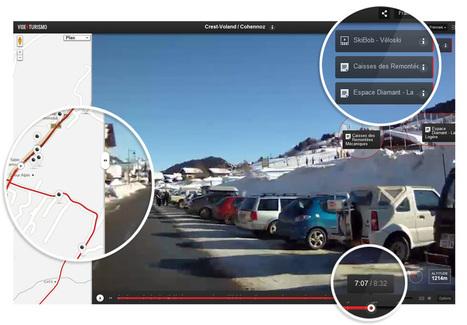 VidéoTurismo - Visite virtuelle des Stations du Val d'Arly embarqué dans une voiture | Le Val d'Arly Mont-Blanc - 4 Stations-Villages de ski Familiales | Vacances Savoie - Alpes | Our work | Scoop.it