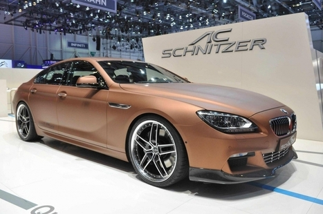 AC Schnitzer BMW 6 Series Gran Coupe - Top Cars   Damn It's Awesome   Scoop.it