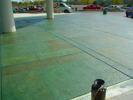 Commercial Flooring Solutions | Decorative Stained Concrete Floors | flooring | Scoop.it