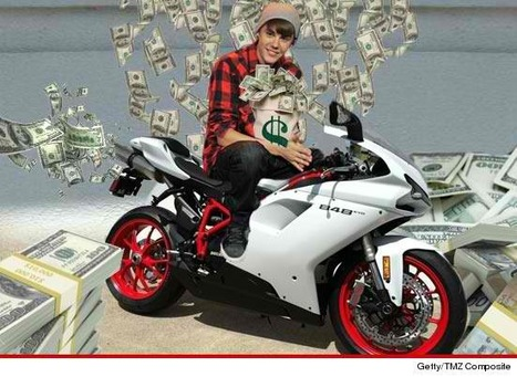 Justin Bieber -- Two Wheel Ballin' on New $20k Ducati Superbike | TMZ | Ductalk Ducati News | Scoop.it
