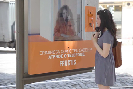 Au Portugal, Garnier met au point un panneau de pub qui vous accuse d'être un criminel ! | streetmarketing | Scoop.it