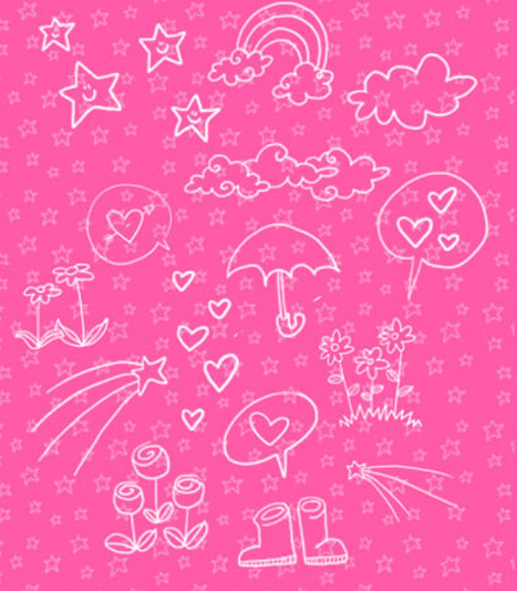 Awake Your Creativity with Free Doodles Photoshop Brushes | Crazy 4 Photoshop | Scoop.it