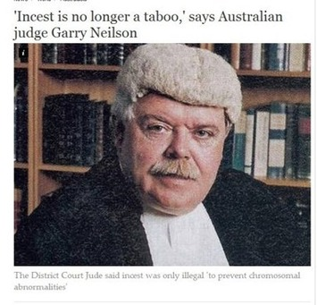 Australian Judge Calls Incest, Rape Acceptable, Religious Leaders Say 'God ... - Gospel Herald | Crimes Against Humanity | Scoop.it