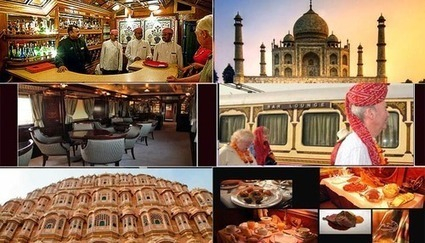 Indian Luxury Train Tour | Palace on wheels | Scoop.it