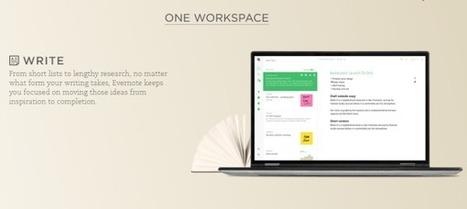La boîte à outils de l'écrivain : Evernote, le meilleur carnet numérique | Evernote, gestion de l'information numérique | Scoop.it