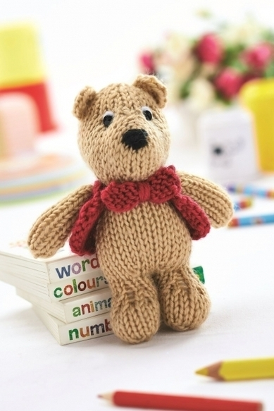 George Bear - Free Knitting Patterns - Animals - Let's Knit Magazine | knooking | Scoop.it