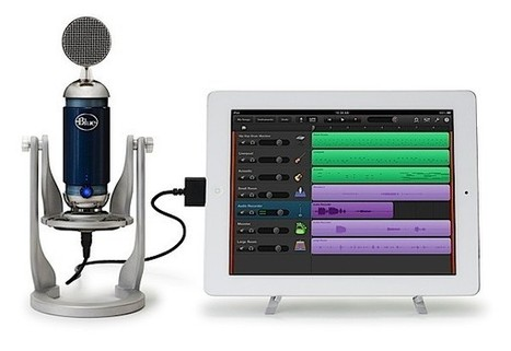 Blue Microphones outs Tiki, Spark Digital and Mikey Digital; looks to feed your mobile recording habit | elearning stuff | Scoop.it