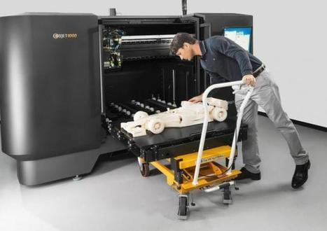 Large scale multi-material 3D printer from Objet   Big and Open Data, FabLab, Internet of things   Scoop.it