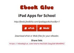 Free Technology for Teachers: Turn Your Blog Into an eBook With Ebook Glue | teaching with technology | Scoop.it
