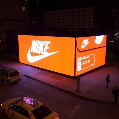 Nike crée un magasin éphémère en forme de boîte à chaussures | Retail | Scoop.it