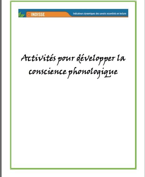Conscience phonologique: activités | AM STRAM GRAM, la conscience phonologique | Scoop.it
