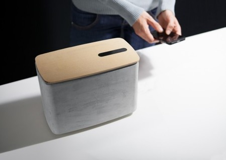 PACO concrete speaker controlled with gestures | ATG | Scoop.it