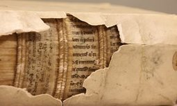X-rays reveal 1,300-year-old writings inside later bookbindings | enjoy yourself | Scoop.it