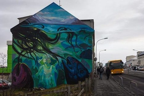 Le street art magique de Reykjavik en Islande | World of Street & Outdoor Arts | Scoop.it