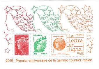 Gamme du courrier rapide, le 1er anniversaire | Philately, Books & Comics | Scoop.it