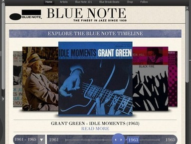 Blue Note: The Best Music Discovery App On Spotify | Music Business and Trend Mongering | Discovering New Music | Scoop.it