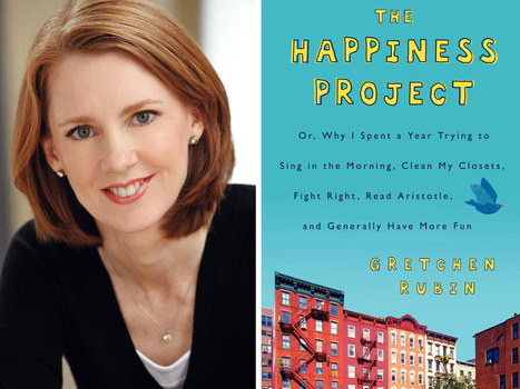 The Happiness Project by Gretchen Rubin | The Blue Bookcase | The Study of HAPPINESS | Scoop.it