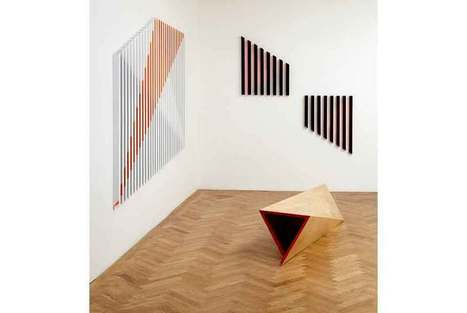 Rana Begum's recent wall mounted metal works on view at Bischoff ... | Architectural Metalwork London | Scoop.it