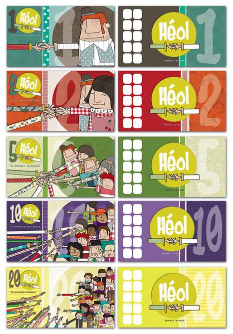 Le visuel des futurs billets Heol est.... - Brest économie sociale et solidaire | Monnaies En Débat | Scoop.it