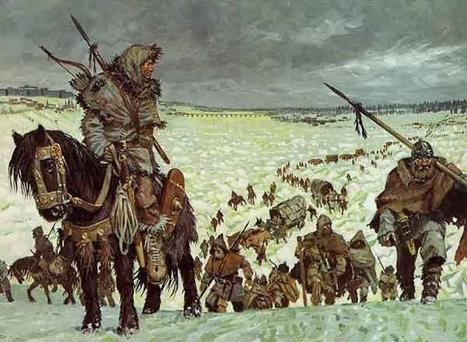 Les invasions barbares | Histoire du Monde | Scoop.it