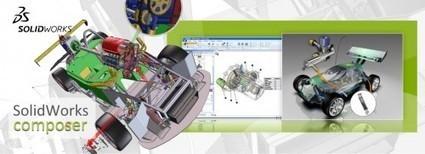 Webcast SolidWorks Composer | Logiciels CAO pour l'industrie | Scoop.it