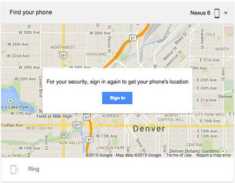 If you lose your Android phone, just Google 'Find My Phone' and it will | Jewish Education Around the World | Scoop.it