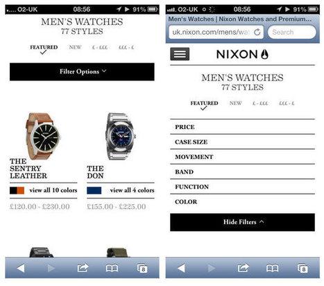 A responsive e-commerce masterclass from Nixon | E-Business & E-Commerce News | Scoop.it