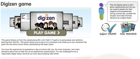 Digizen Game | Bibliotecas Escolares & boas companhias... | Scoop.it