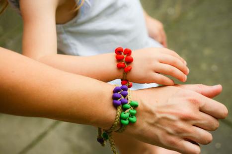 Sculpey Beaded Bracelet : Blog a la Cart | DIY - jewellery  =  HTM - bijou | Scoop.it
