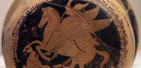 Pegaso, el caballo alado | Mitología clásica | Scoop.it