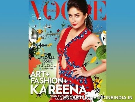 Kareena Kapoor Scorches The Cover of Vogue Magazine - See Picture | Celebrity fashion | Scoop.it