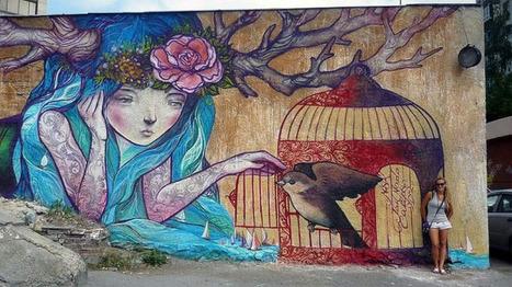 Street Art for July | World of Street