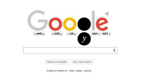 Google recuerda al padre de la lógica computacional, George Boole, con un doodle | Uso inteligente de las herramientas TIC | Scoop.it