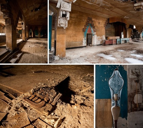 "Abandoned Vanity Ballroom: Detroit's ""Most Beautiful Dance Rendezvous"" 