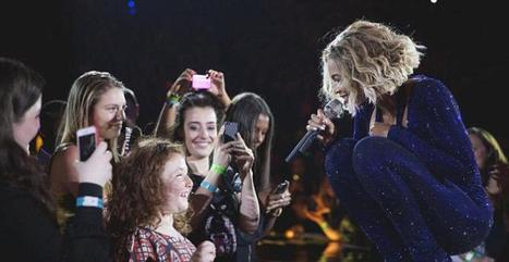 Beyoncé réalise le rêve d'une petite fille aveugle à son concert ! | beyoncé | Scoop.it
