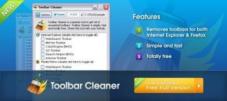 4 logiciels gratuits pour supprimer une toolbar (barre d'outil) | idriss-yz@hotmail.com | Scoop.it