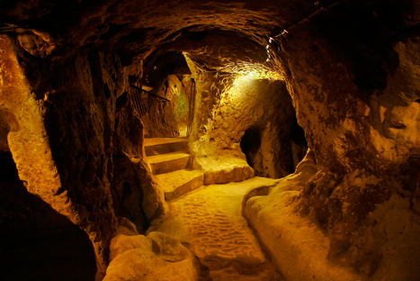 The Intriguing Ancient Underground City of Derinkuyu | Abandoned Houses | Scoop.it