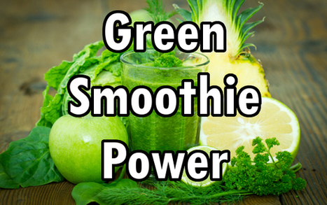 Chlorophyll Smoothie: The Blood Building Green Juice Remedy | Health, Beauty, Relationship | Scoop.it