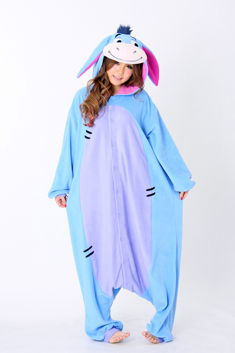 Eeyore animal onesies for adult, animal Kigurumi | Onesies | Scoop.it