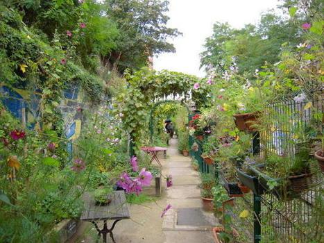 Les jardins secrets de Paris | Jardins urbains | Scoop.it