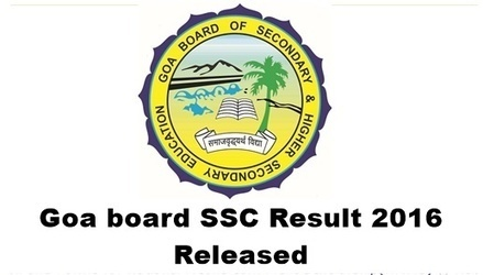 Goa Board SSC Results 2016 – Goa 10th Exam Results goaresults.nic.in - Intermediate Results 2016 | Exam Results 2016 | Scoop.it