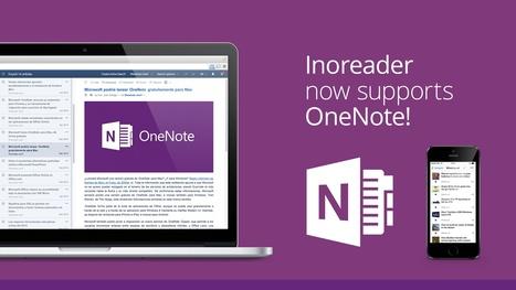 Inoreader: OneNote Integration | RSS Circus : veille stratégique, intelligence économique, curation, publication, Web 2.0 | Scoop.it