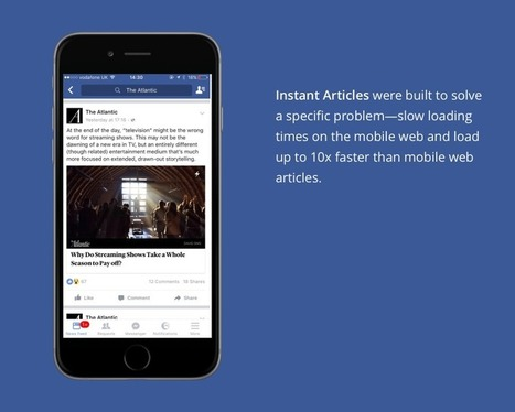How to Get Started With Facebook Instant Articles | Public Relations & Social Media Insight | Scoop.it
