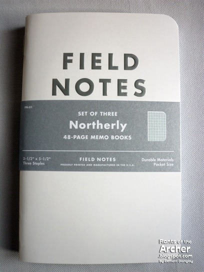 The Northerly by Field Notes Review | Rants of The Archer | stationery | Scoop.it