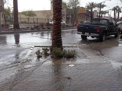 Downtown Desert Hot Springs Flooded By Design | Desert Hot Springs | Scoop.it