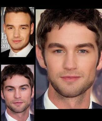 Twitter / Morphing_Celebs: Chase Crawford and Liam Payne ... | Womens Fashion | Scoop.it