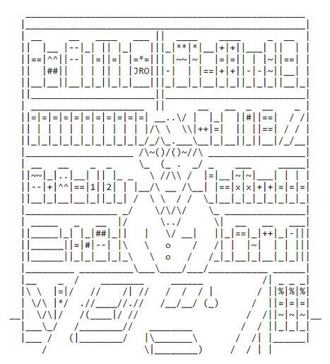 ASCII Art Books - ascii-code.com | ASCII Art | Scoop.it
