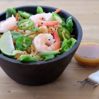 Green Papaya Salad with Shrimp | Box lunch | Scoop.it