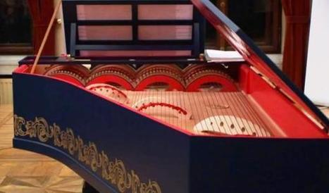 Leonardo da Vinci piano hybrid heard after 500 years | Gentlemachines | Scoop.it