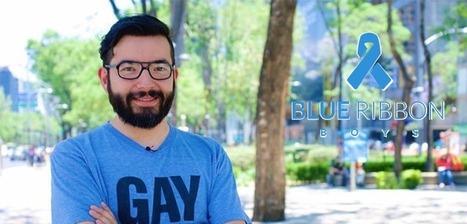 Blue Ribbon Boys: LGBT Journalist Cristian Galarza Fights Against HIV Stigma   HIV and the LGBT Community   Scoop.it